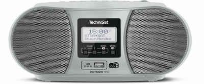 TechniSat »DIGITRADIO 1990« CD-Player (Digitalradio (DAB), UKW, 3,00 W, Bluetooth, Netz- und Batteriebetrieb, Netz- und Batteriebetrieb)