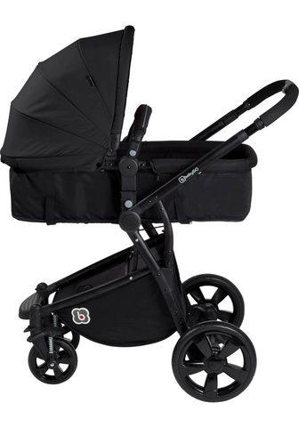 BabyGo Kombi-Kinderwagen »Spring black«
