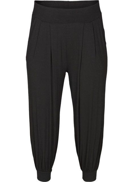 Hosen - Active by ZIZZI Trainingshose Große Größen Damen 3 4 Hose mit Taschen und Stretch ›  - Onlineshop OTTO