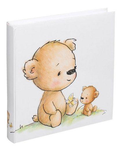 IDEAL TREND Album »Teddybär Fotoalbum 30x30 cm 100 weiße Seiten Baby Foto Album Fotobuch«