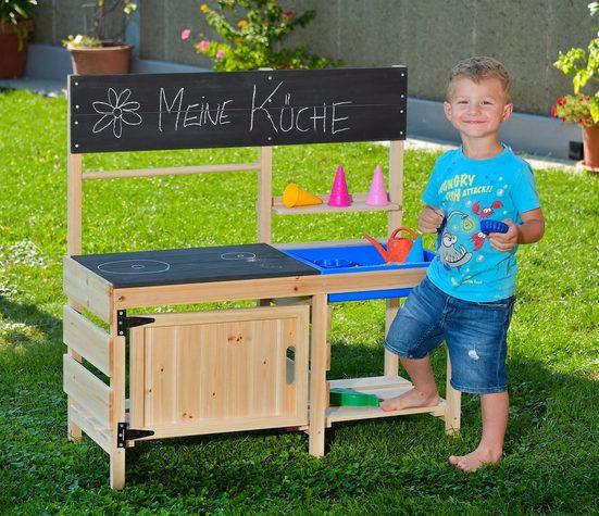 GASPO Spielküche »Merida« Holz, BxLxH: 43x95x98 cm