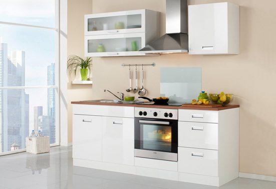 HELD MÖBEL Küchenzeile »Fulda«, ohne E-Geräte, Breite 210 cm