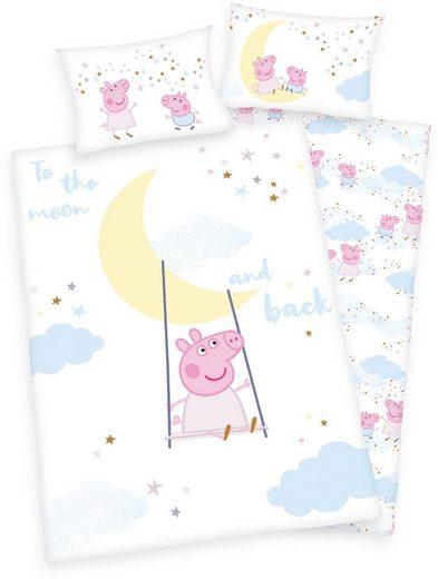 Babybettwäsche »Peppa Pig«, mit niedlichem Peppa Pig-Motiv