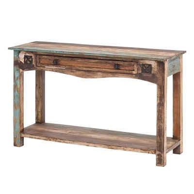 MÖBEL IDEAL Konsolentisch »Largo«, aus Massivholz Bunt / Braun - 120 x 76 cm