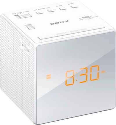 Sony »ICF-C1W« Uhrenradio (FM-Tuner, AM-Tuner, 0,1 W)