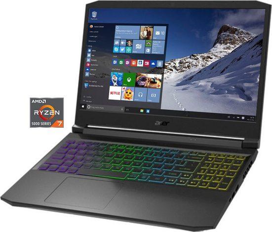Acer AN515-45-R588 Notebook (39,62 cm/15,6 Zoll, AMD Ryzen 7, GeForce RTX 3080, 1000 GB SSD, Kostenloses Upgrade auf Windows 11, sobald verfügbar)