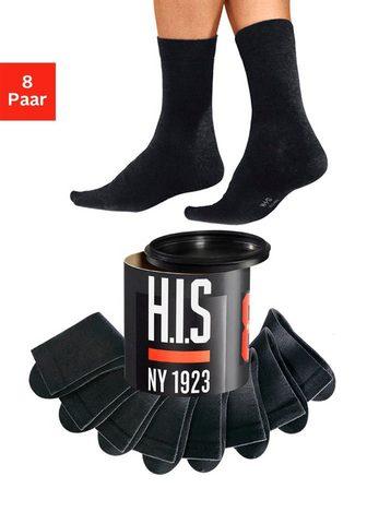 H.I.S Socken (Dose 8-Paar) in der Geschenkdo...