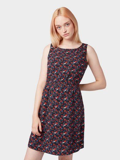 TOM TAILOR Denim Jerseykleid »Gemustertes Kleid«