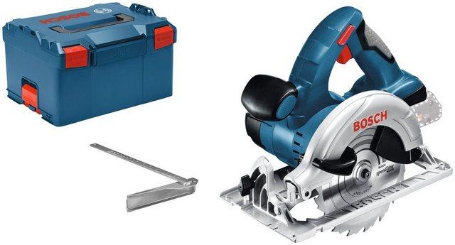Bosch Professional Akku-Handkreissäge GKS 18V-LI , 18 V, 51 mm, ohne Akku Ladegerät
