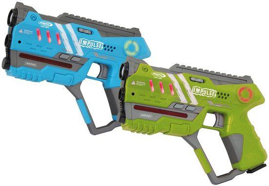 Jamara Laserpistole »Impulse Pistol« (2-tlg), für Kinder ab 8 Jahren