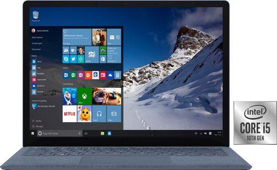 Microsoft Surface Laptop 4 Notebook (34,29 cm/13,5 Zoll, Intel Core i5 1035G1, UHD Graphics, 512 GB SSD)