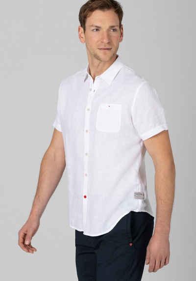 TIMEZONE Kurzarmhemd »Soft Linen Shortsleeve Shirt«