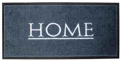 Fußmatte »Grau Emotion XS Home 80 x 40 cm Türmatte Fußmatte«, Mr. Ghorbani, Rechteckig, Höhe 8 mm