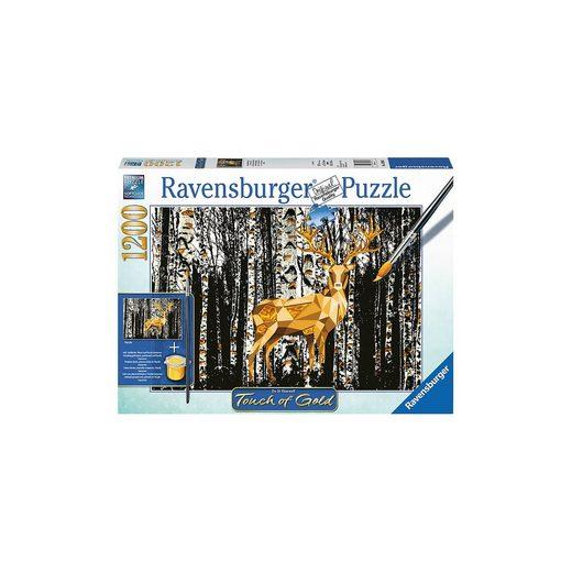 Ravensburger Hirsch im Birkenwald 1000 Teile