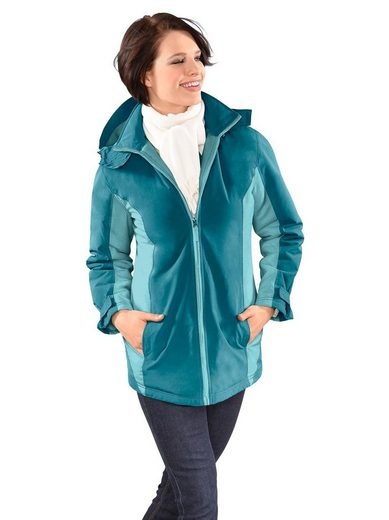 Classic Basics Jacke aus wind- und wasserabweisender Microfaser