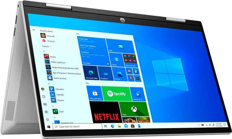 HP Pavilion x360 14-dy0202ng Convertible Notebook (35,6 cm/14 Zoll, Intel Core i5 1135G7, Iris© Xe Graphics, 512 GB SSD, Kostenloses Upgrade auf Windows 11, sobald verfügbar)