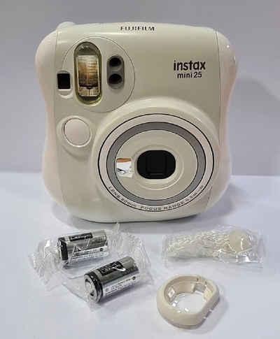1A PHOTO PORST »Fuji Instax Mini 25 Weiß« Sofortbildkamera