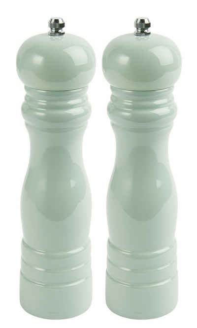 Ib Laursen Salz-/Pfeffermühle »Ib Laursen - 2er Set Gewürzmühlen Salzmühle und Pfeffermühle 1740 Vintage Retro Farbe: hellgrün - 42«