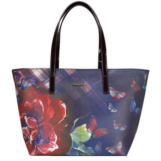 Desigual BOLS San Francisco Papillon Shopper Tasche 46 cm
