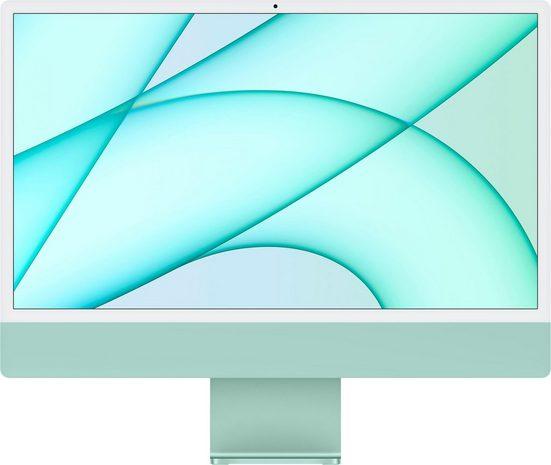 """Apple iMac 24"""" mit 4,5K Retina Display iMac (24 Zoll, Apple M1, 8 GB RAM, 256 GB SSD)"""