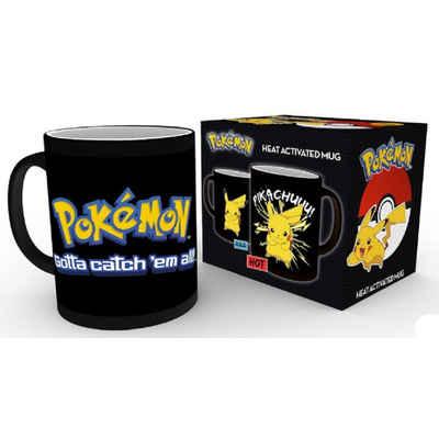 POKÉMON Thermotasse »Pokemon Tasse: Mit Thermoeffekt Pikachu«