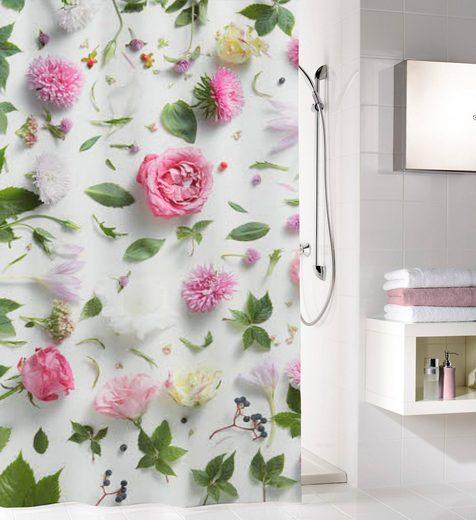 KLEINE WOLKE Duschvorhang »Rosalie«, 180 cm Breite