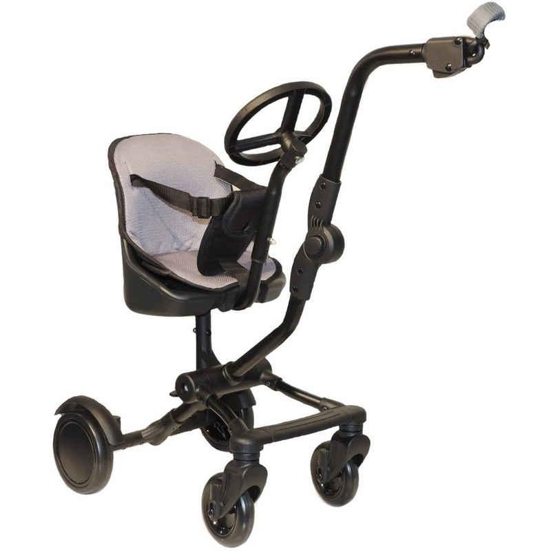 Eichhorn Kinderwagen Buggyboard »Eichhorn Uptown-Rider Geschwistersitz mit Sitz und Lenkrad«, zur seitlichen Befestigung am Kinderwagen