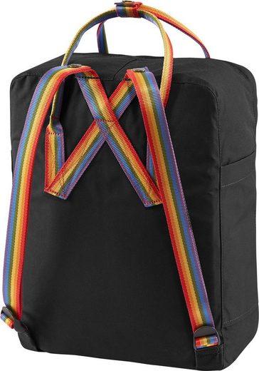 Fjällräven Freizeitrucksack »Kanken Rainbow  black«