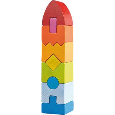 Haba Stapelspielzeug »HABA 301690 Stapelspiel Regenbogen-Hochhaus«