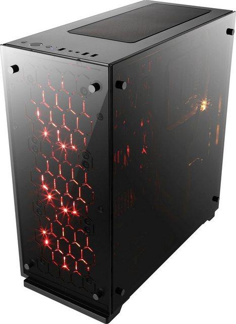 CSL HydroX T8712 Wasserkühlung PC-Komplettsystem 27 Zoll, AMD Ryzen 5, GeForce RTX 2060, 16 GB RAM, 500 GB SSD