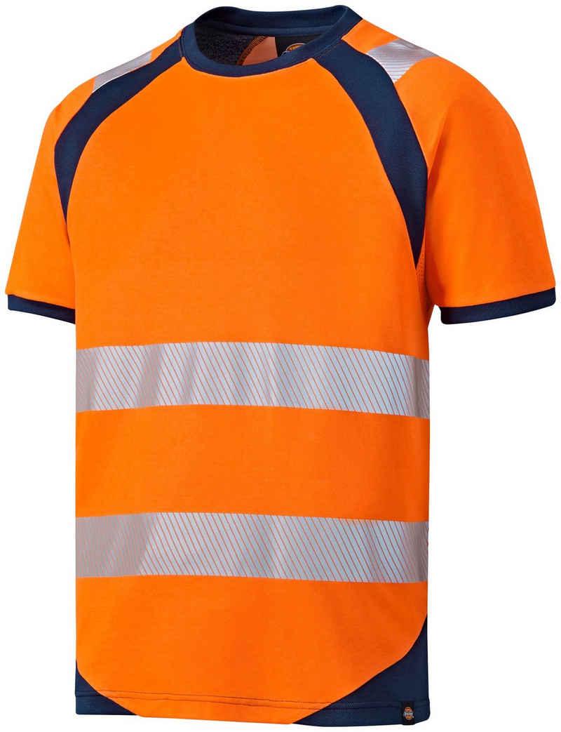 Dickies Warnschutz-Shirt »Hi-Vis« mit Rundhals