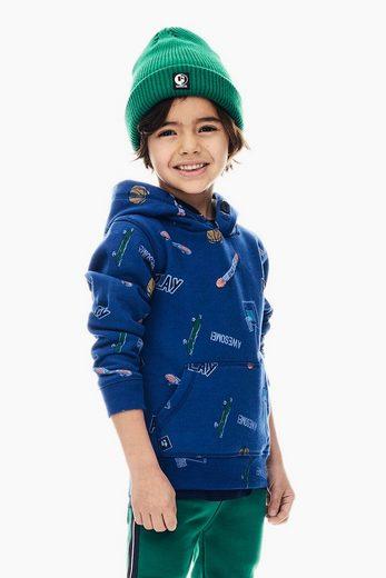 Garcia Sweater mit allover Print
