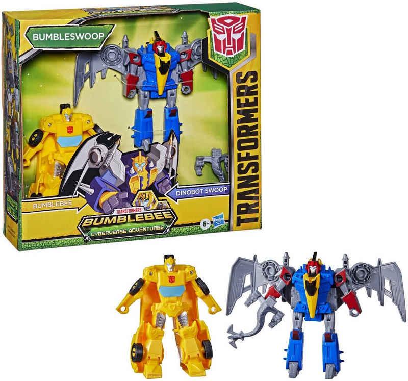 Hasbro Actionfigur »Transformers Bumblebee Cyberverse Adventures - Dino Combiners Bumbleswoop«