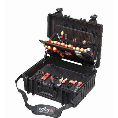 Wiha Werkzeugkoffer »Werkzeug Set Elektriker Competence XL 80-tlg.«