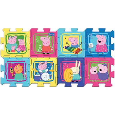 Trefl Puzzlematte »Schaumstoff-Puzzle - Peppa Wutz«, Puzzleteile
