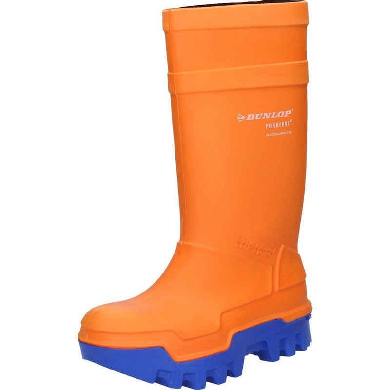 Dunlop »Dunlop Stiefel Purofort Thermo+ orange S5« Sicherheitsstiefel