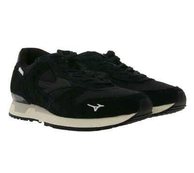 Mizuno »MIZUNO X FUTUR GENOVA 87 Sneaker trendige Low Top Schuhe Unisex Echtleder Freizeit-Schuhe Schwarz« Sneaker