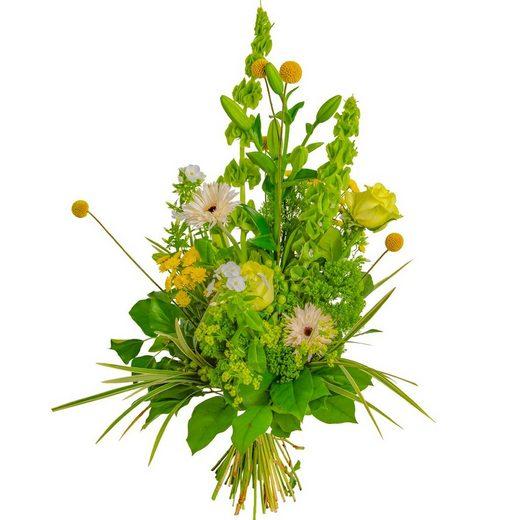 FLOWRFRAME Blumenstrauß, mit 37 bunten gemischten Blumen ohne Vase