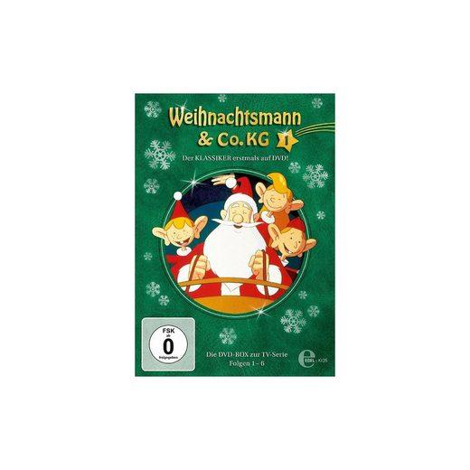 Edel DVD Weihnachtsmann & Co.KG DVD Box 1 (Folgen 1-6, 2 Discs)