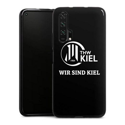 DeinDesign Handyhülle »Wir sind THW Kiel« Huawei Honor 20 Pro, Hülle Handball THW Kiel Fanartikel
