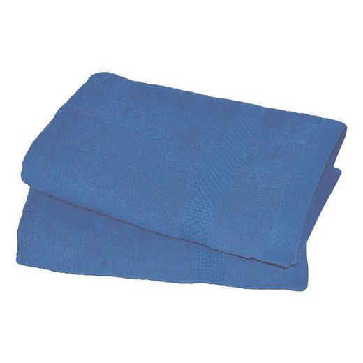 Dyckhoff Handtücher »Planet« (2-St), weich und saugfähig, mit formstabiler Borte