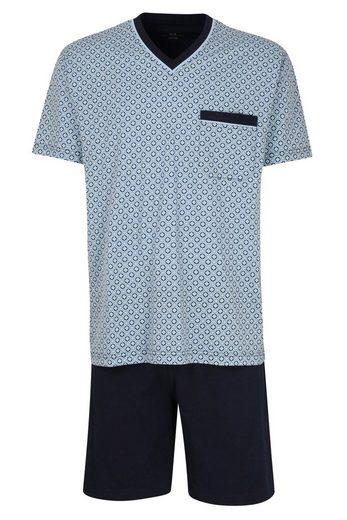 GÖTZBURG Pyjama »Götzburg Herren Schlafanzug Baumwolle« Baumwolle