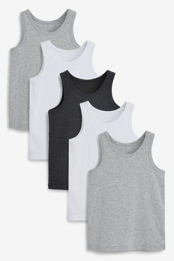 Next Unterhemd »Unterhemden aus Bio-Baumwolle,5er-Pack« (5 Stück)