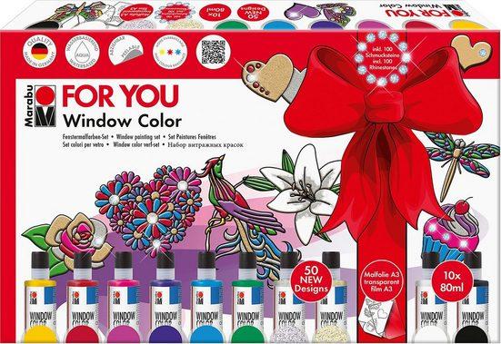 Fenstersticker »Window Color Geschenkset For You«, Marabu