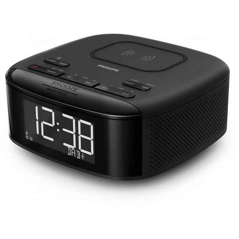 Philips »TAR7705/10 Uhrenradio mit QI-Ladestation« Uhrenradio