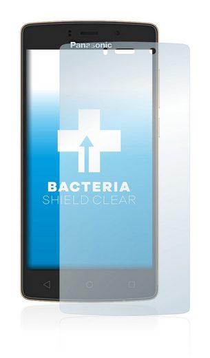 upscreen Schutzfolie »für Panasonic P75«, Folie Schutzfolie klar antibakteriell