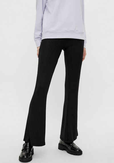 pieces Jeggings »PCTOPPY MW FLARED PANT« Flared Style