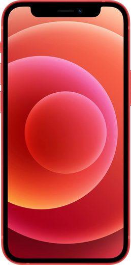 Apple iPhone 12 mini Smartphone (13,7 cm/5,4 Zoll, 128 GB Speicherplatz, 12 MP Kamera, ohne Strom Adapter und Kopfhörer, kompatibel mit AirPods, AirPods Pro, Earpods Kopfhörer)