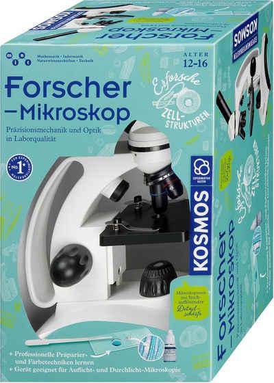 Kosmos »Forschermikroskop« Kindermikroskop (10x-400x)