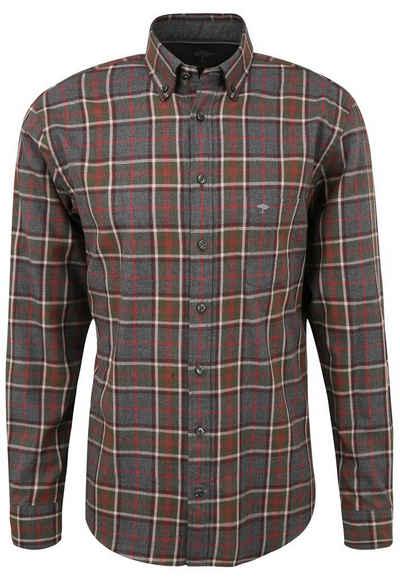 FYNCH-HATTON Hemd »Fynch-Hatton / He.Hemd langarm / Flannel Check, B.D., 1/1«